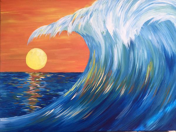 Wave at Twilight by Emma Napier