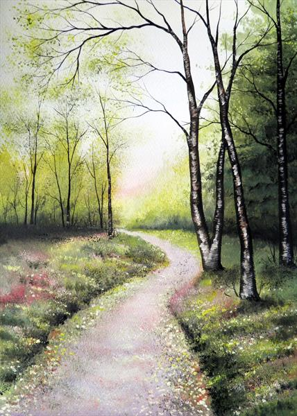 Forest Path by Sarah Featherstone