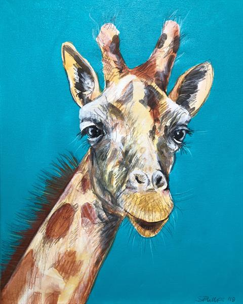 Gerry Giraffe 3 by Serena Phillips