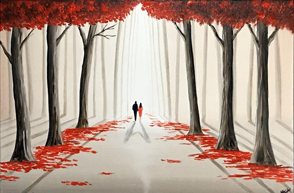 A Romantic Walk Through The Woods