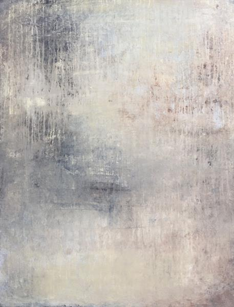 """1198 abstract beige/silber wall"""