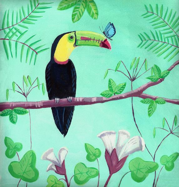 Toucan by Mary Stubberfield