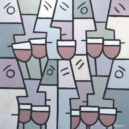 Wine Party by Simon Fairless