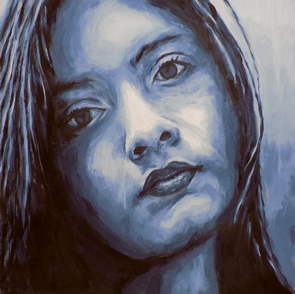 Portrait of a girl by Bryn Fellows