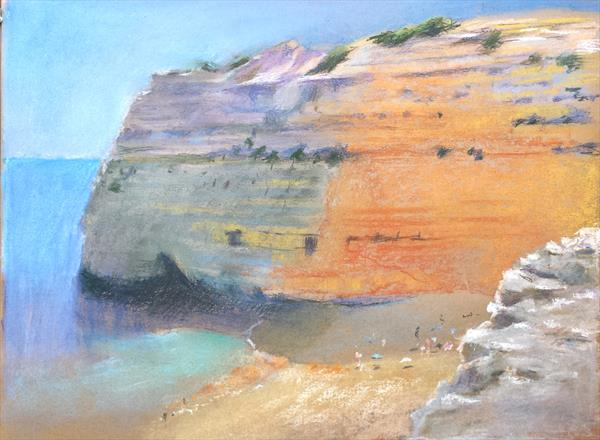 Algarve Cove by Michael Parkinson