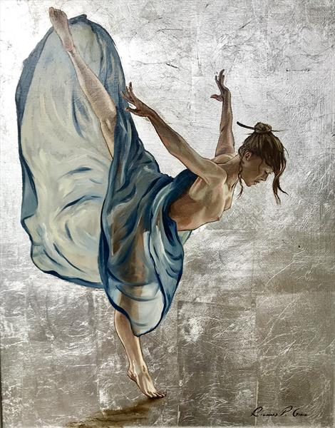 Blue Dancer by Richard Gill