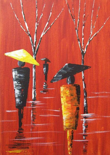 Another Rainy Day 2# by Patricia Richards