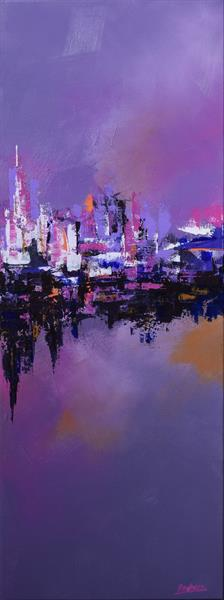 Purple City by Cristina Racheru