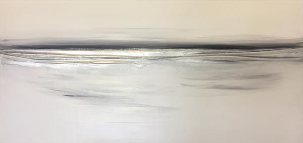Silver Horizon - greys by Kerry Bowler