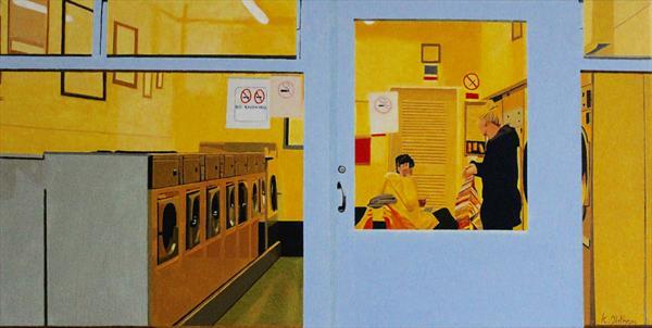 Holbeach Laundrette by Kevin Oldham