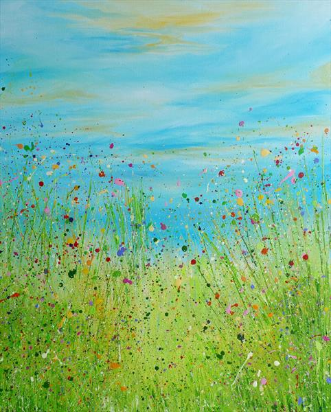 Summer Jewel Meadow by Lucy Moore