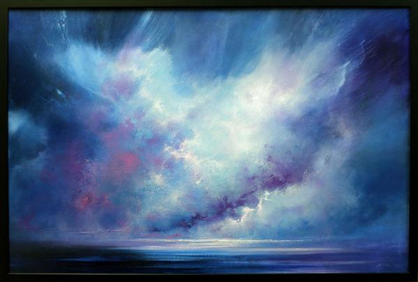 Departing Storm by Stella Dunkley