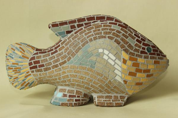 Fish Money Box by John Tebby