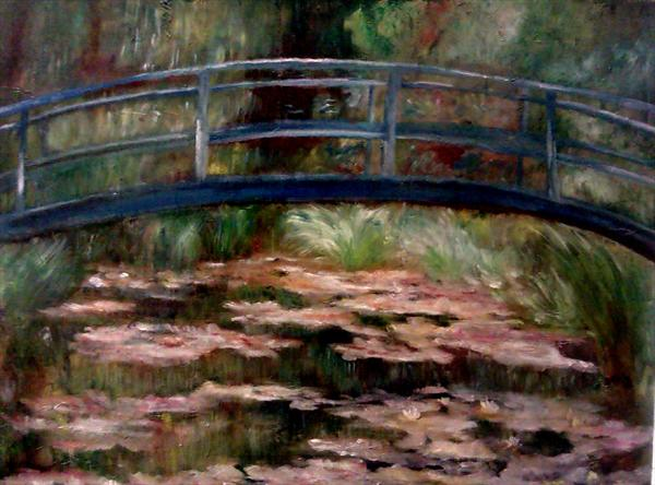Japanese Bridge by Julie Bond