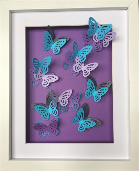 Pastel Butterflies by Rach French