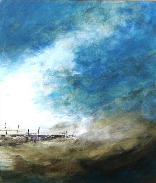 Harbour Wall by Tracey Waghorn