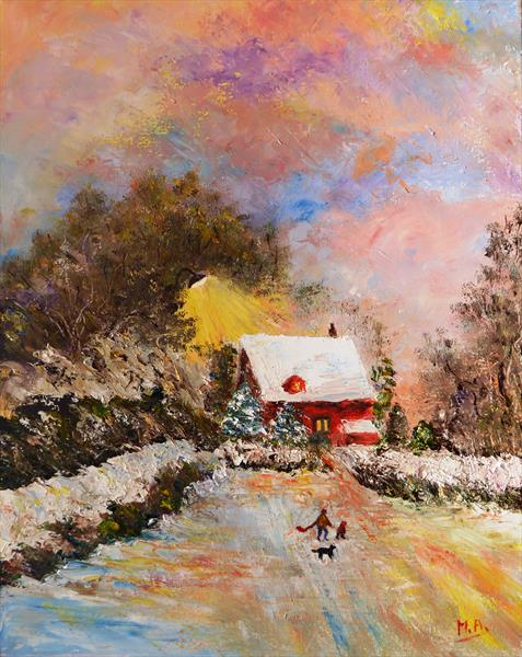 Wintry Wonderland by Mary Ann Day