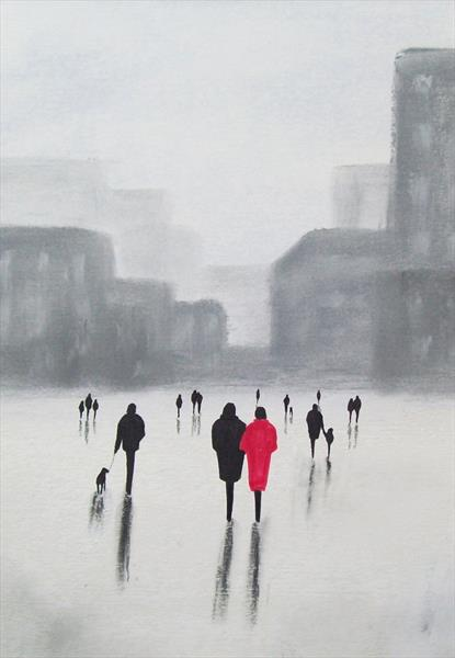 City After the Rain by Patricia Richards