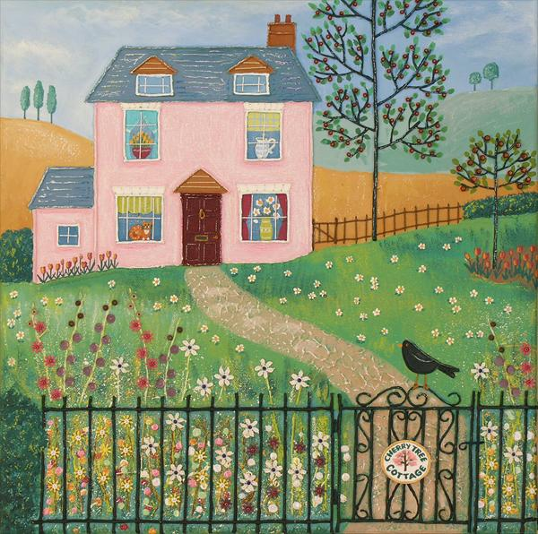 Cherry Tree Cottage by Josephine Grundy