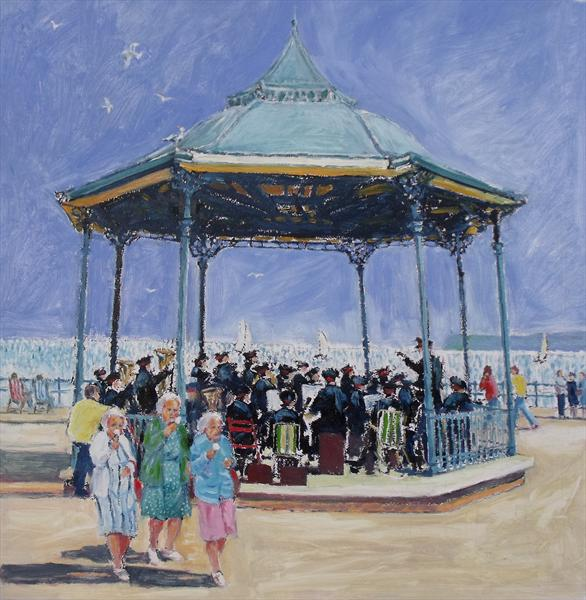 A Summers Day Bognor by Peter King