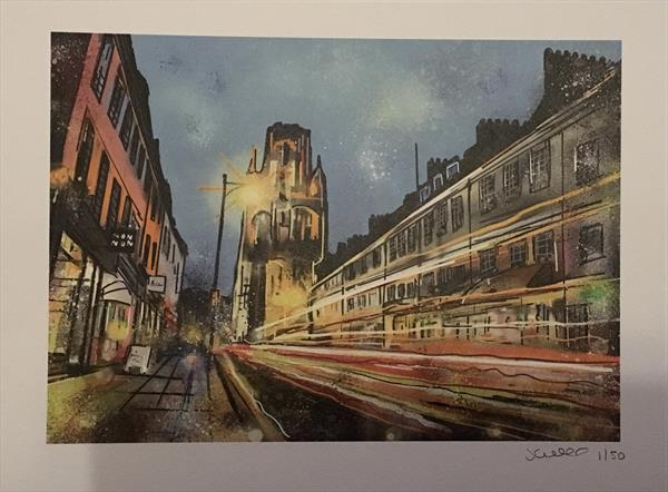 Park Street, Bristol - Digital art print by John Curtis