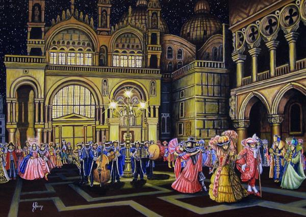 San Marco Revellers by John Penney
