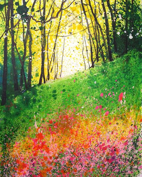 Impression of Wildflowers by Teresa Tanner