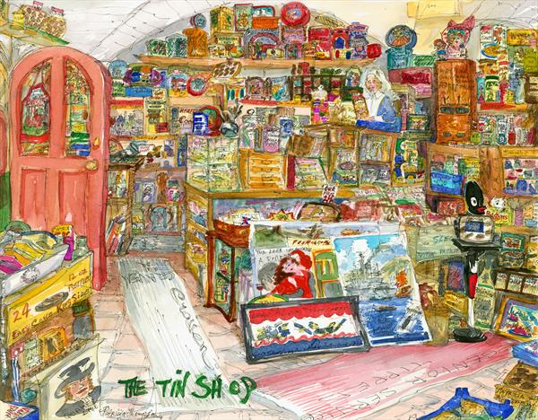 THE TIN SHOP by Patricia Edith Mary Thompson