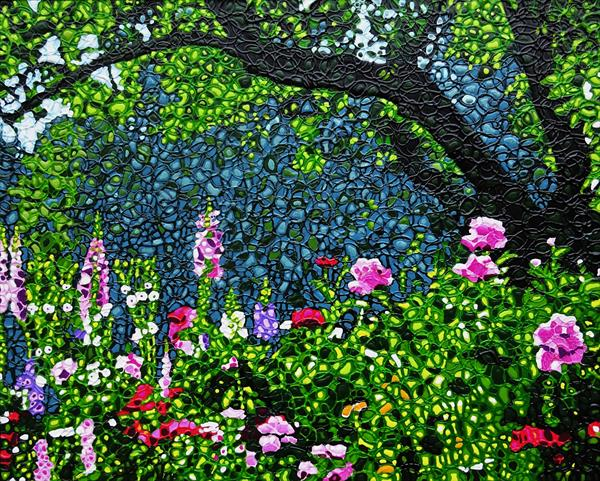 Midsummer Garden by Paula Horsley