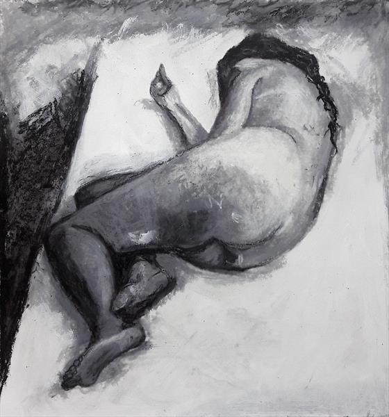 Reclining nude by Teresa Tanner