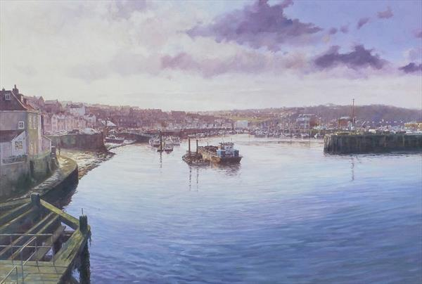 Whitby Morn by Michael Salt