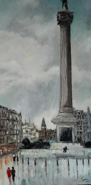 Nelsons column-London
