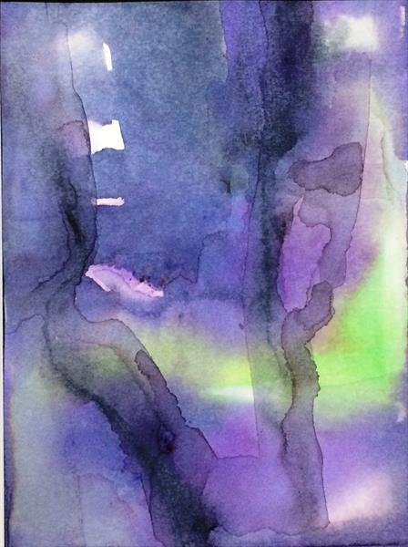 Misty Watercolour Memories I  by Maxine Martin