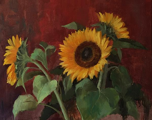 Sunflowers by Ling Strube