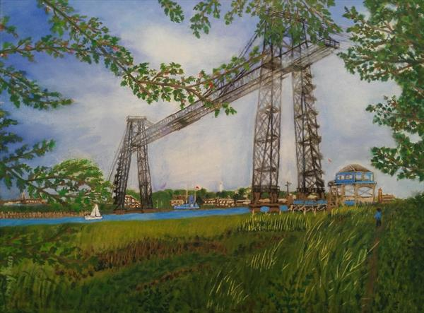 Transporter Bridge, Newport by may than