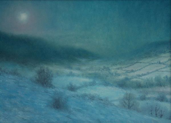 Winter Landscape by Martin Cook