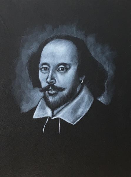 William Shakespeare 1 by Karl Hamilton-cox