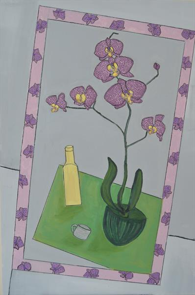 Orchid and other things by Melissa Pentney