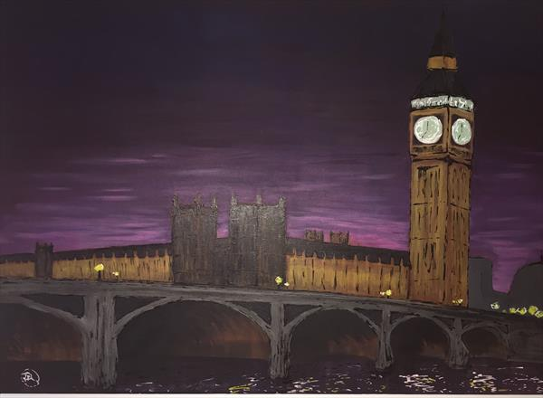 Westminster at dusk by Paul Nottingham