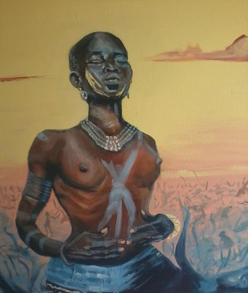 Dinka Delight by Colin Able