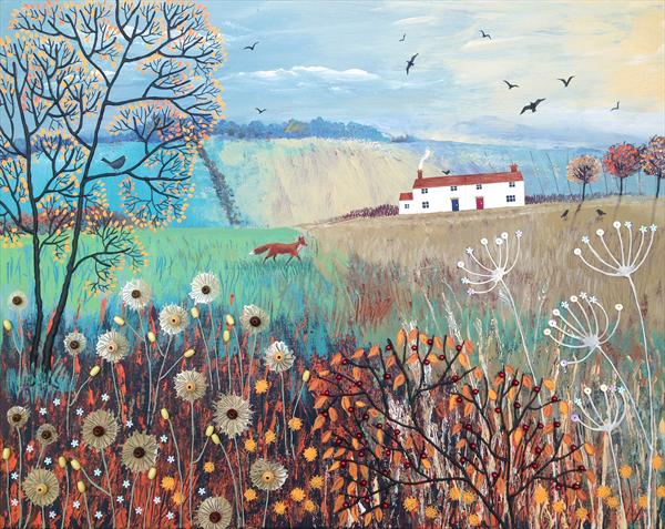 Across Autumn Fields by Josephine Grundy