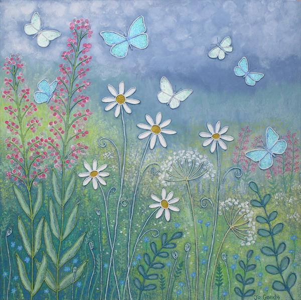 Butterfly Meadow by Josephine Grundy