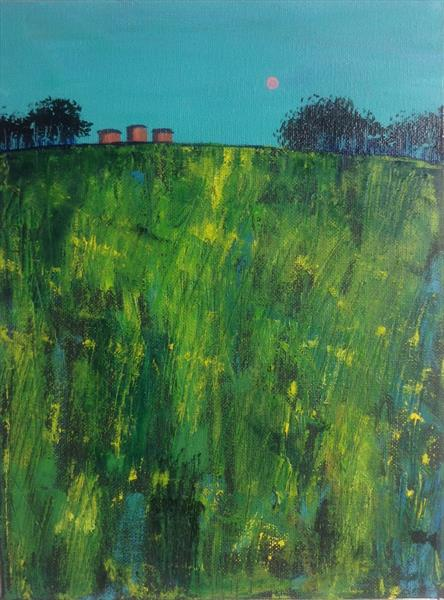 Summer on the hill by Sarah Gill
