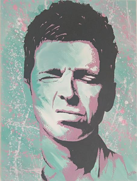 Noel gallagher  by Graham Hirst
