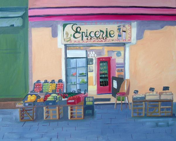 L'Epicerie by Mary Stubberfield