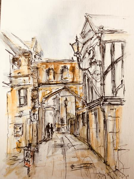 Sherborne, Dorset  by Wendy Thompson