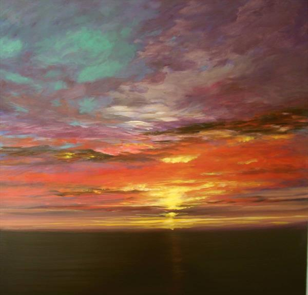 Sky of Tranquility by Wendy Puerto
