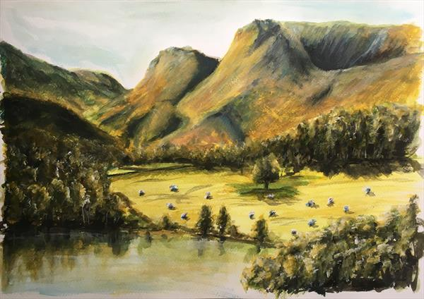 Lake District-langdale pikes  by Damion  Maxwell
