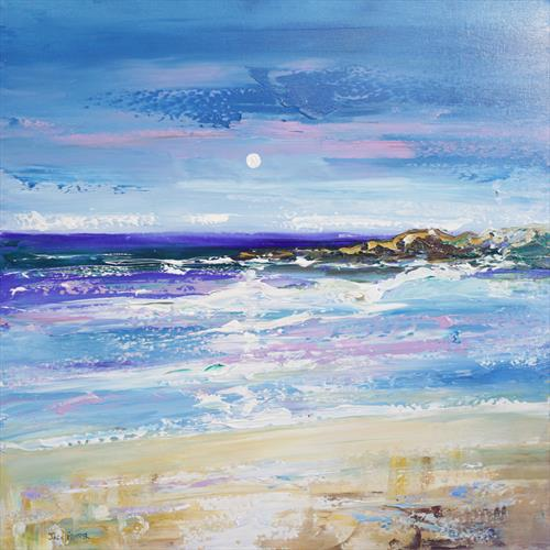 Kiloran bay, isle of Colonsay, Scottish art by jack fraser