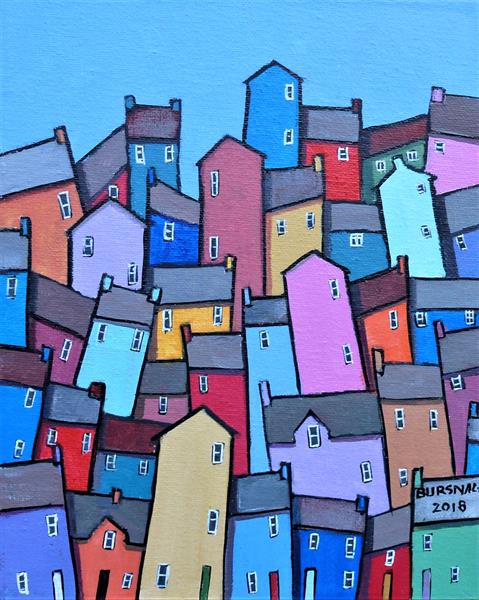 Town colours by Paul Bursnall